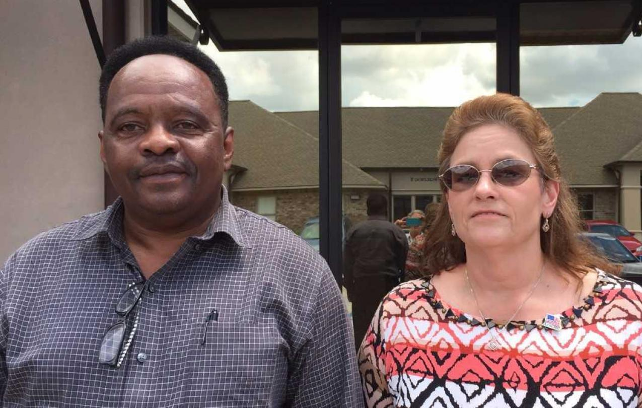 Phillip Newton and Ladonna Etheridge are members of AFSCME Local 1695 at Eastern Louisiana Mental Health System (ELMHS)